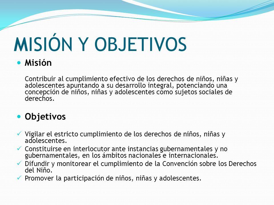 MISIÓN Y OBJETIVOS Misión Objetivos