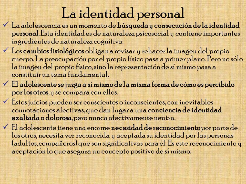 La identidad personal