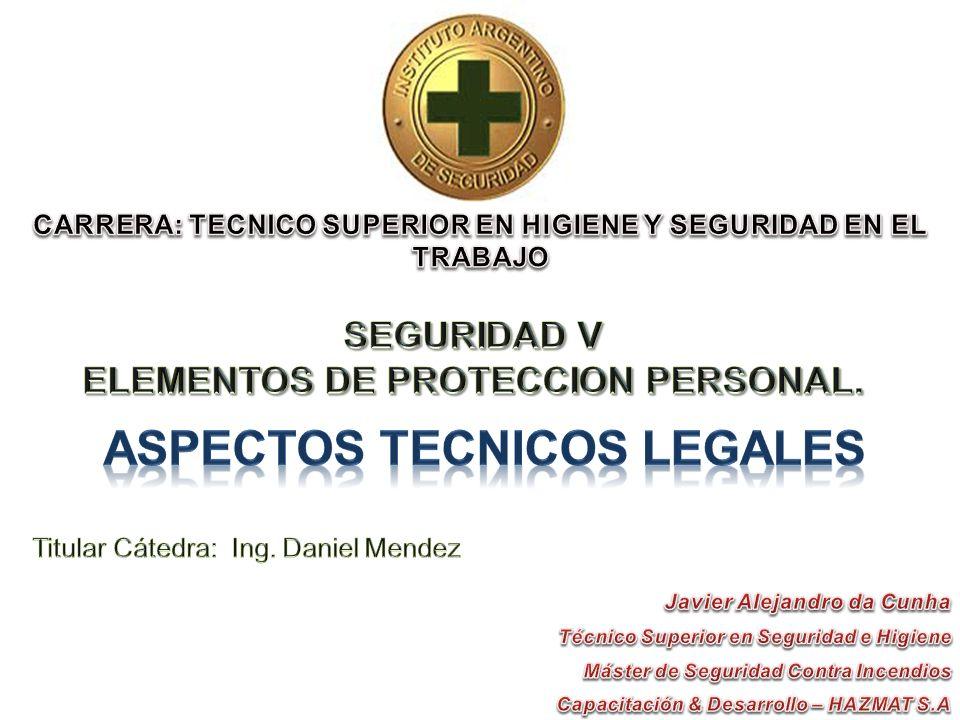 ASPECTOS TECNICOS LEGALES