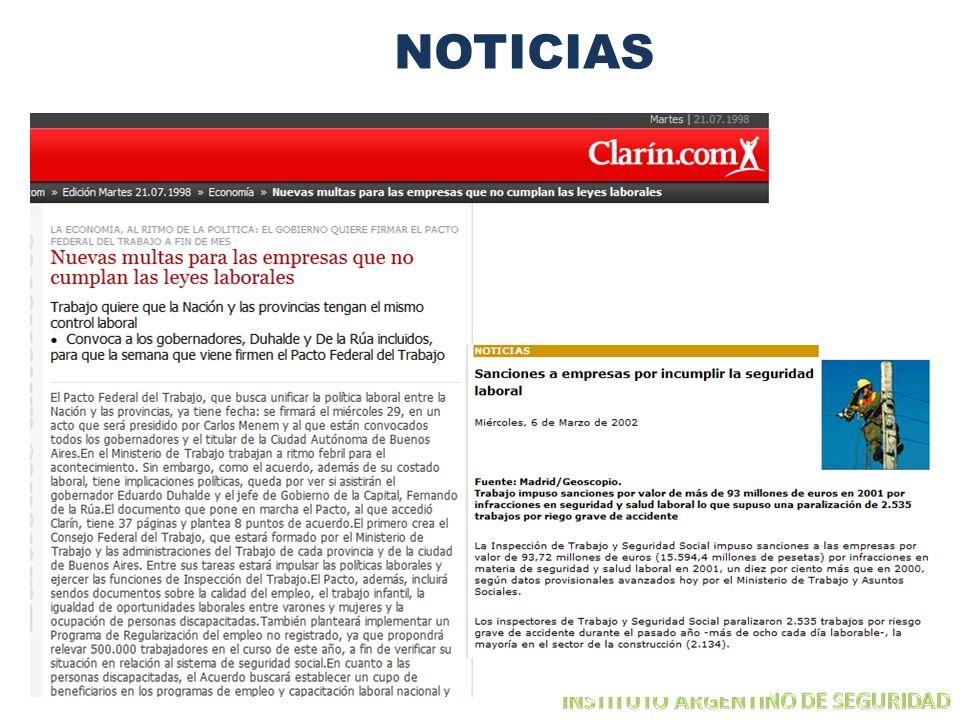 NOTICIAS INSTITUTO ARGENTINO DE SEGURIDAD
