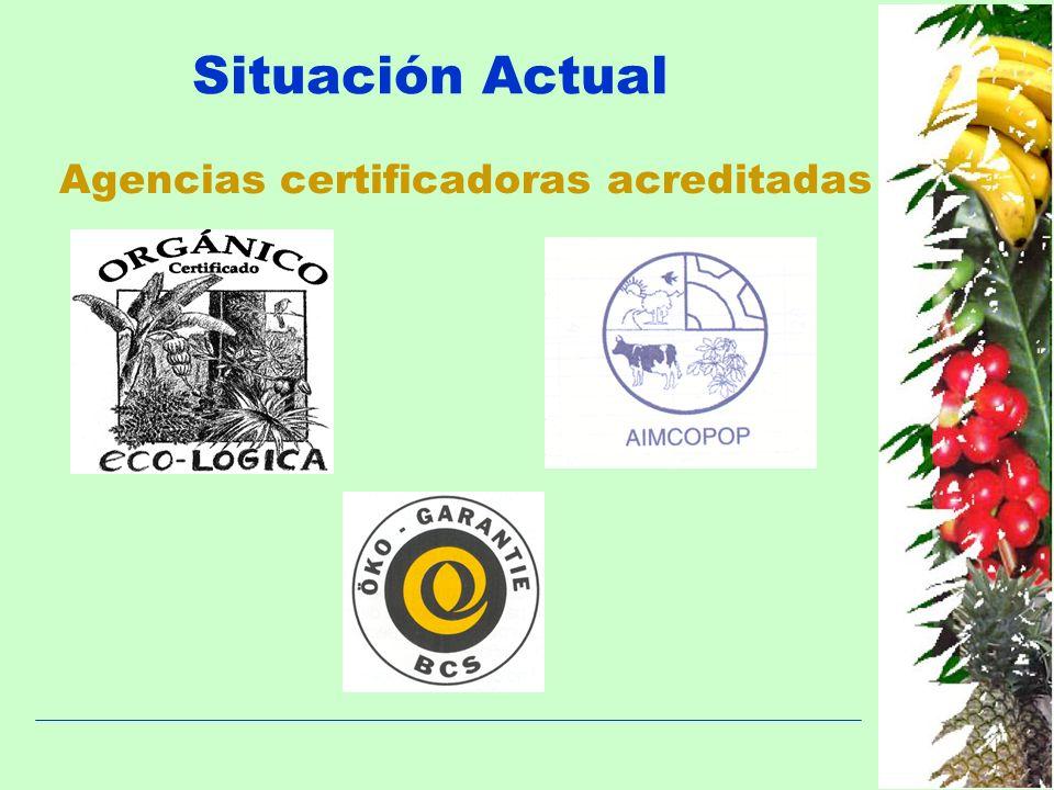 Agencias certificadoras acreditadas