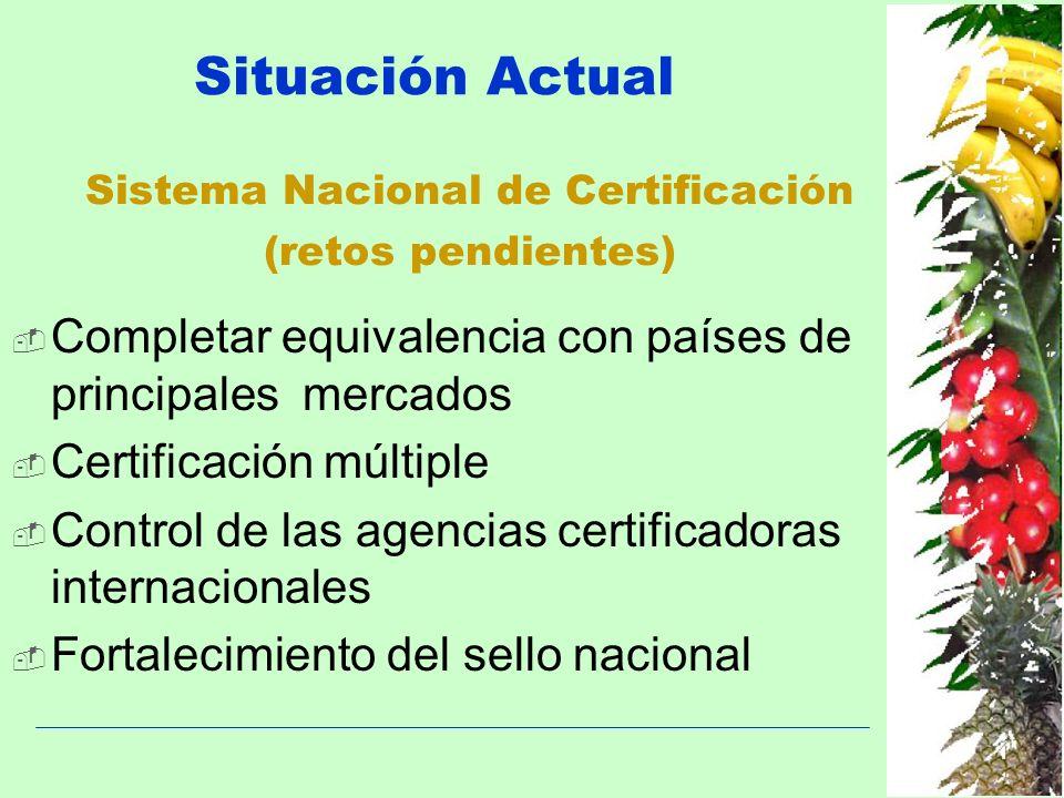 Sistema Nacional de Certificación (retos pendientes)