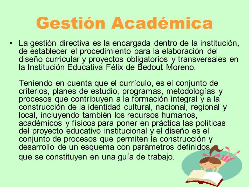 Gestión Académica