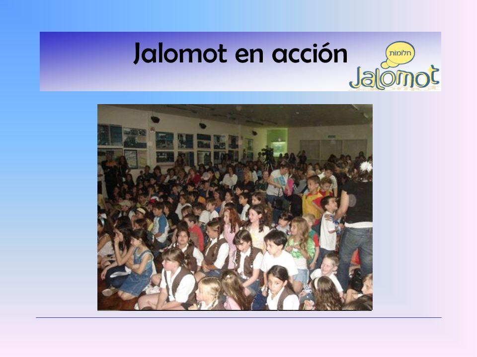 Jalomot en acción