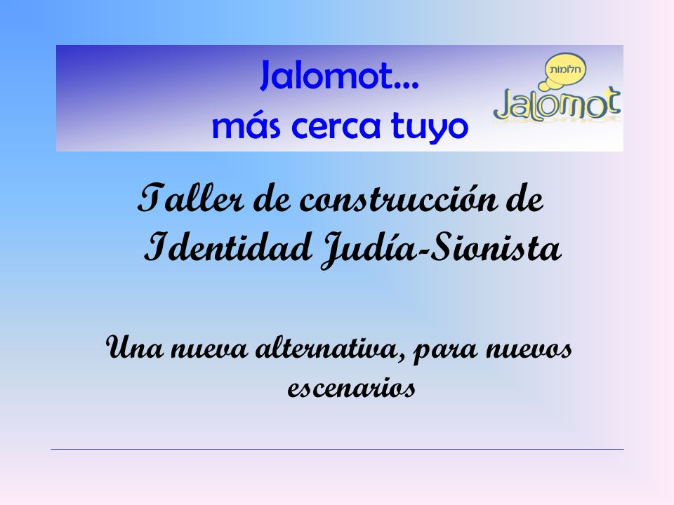 Jalomot… más cerca tuyo