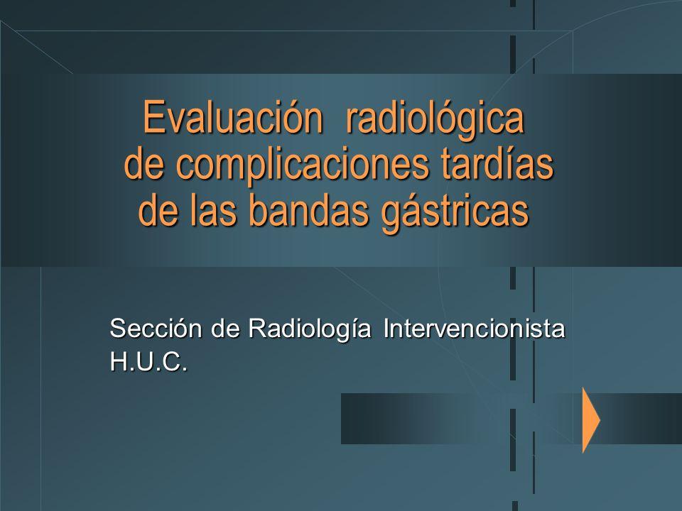 Sección de Radiología Intervencionista H.U.C.
