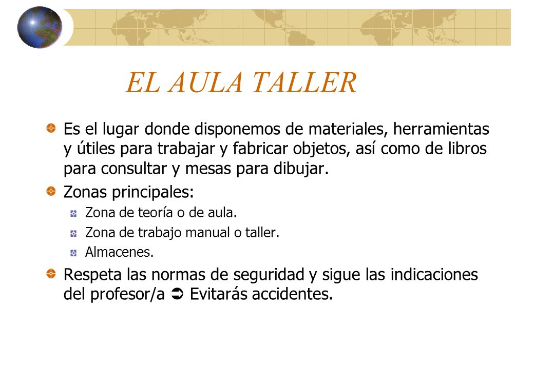 EL AULA TALLER