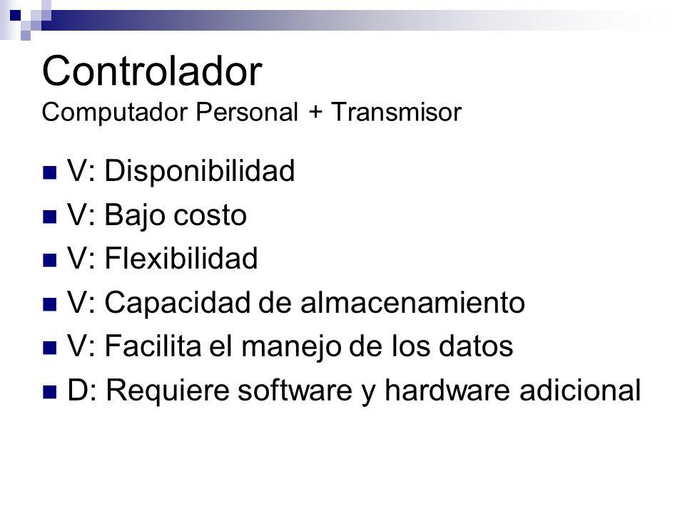Controlador Computador Personal + Transmisor
