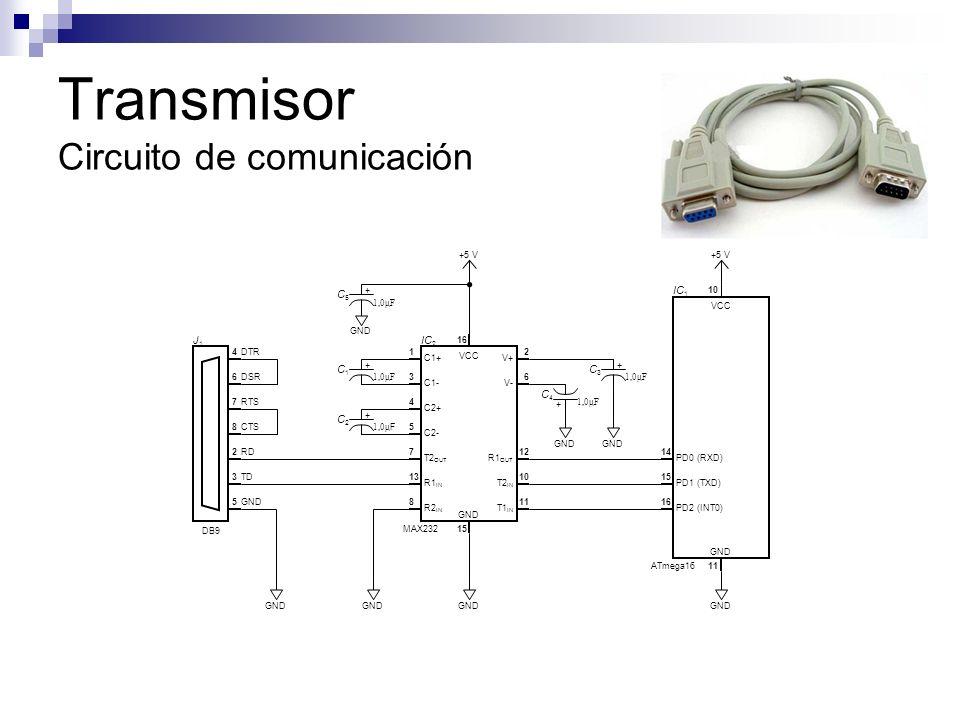 Transmisor Circuito de comunicación