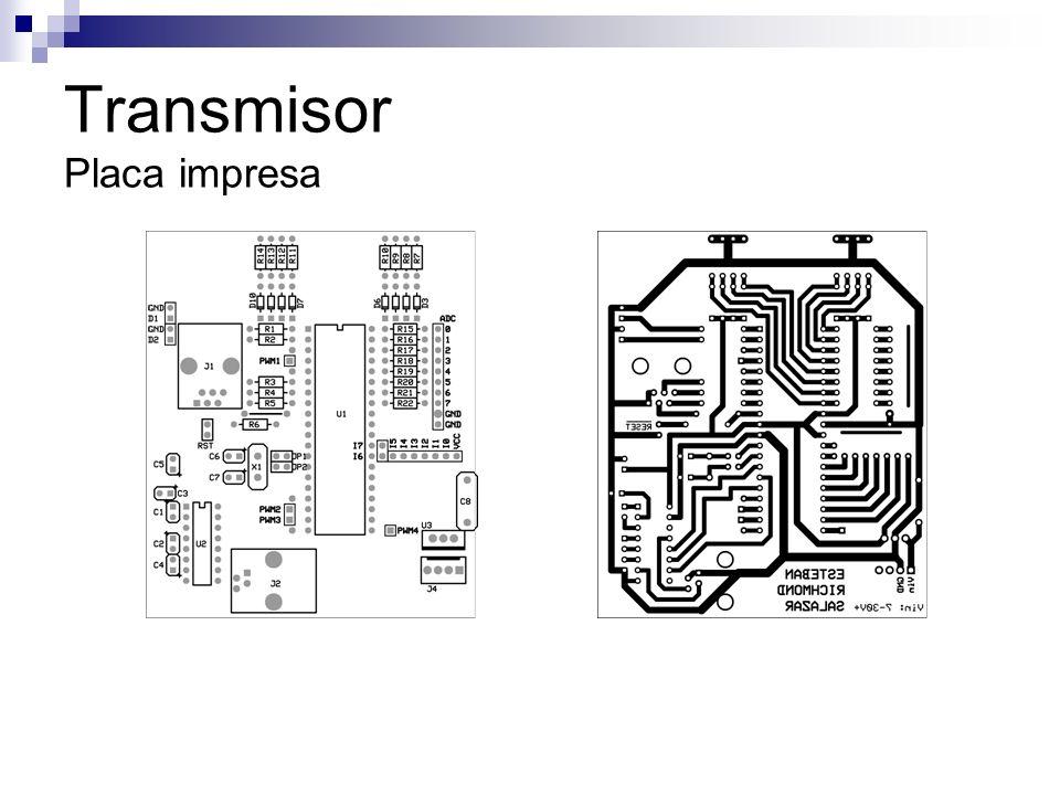 Transmisor Placa impresa