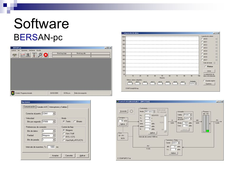 Software BERSAN-pc