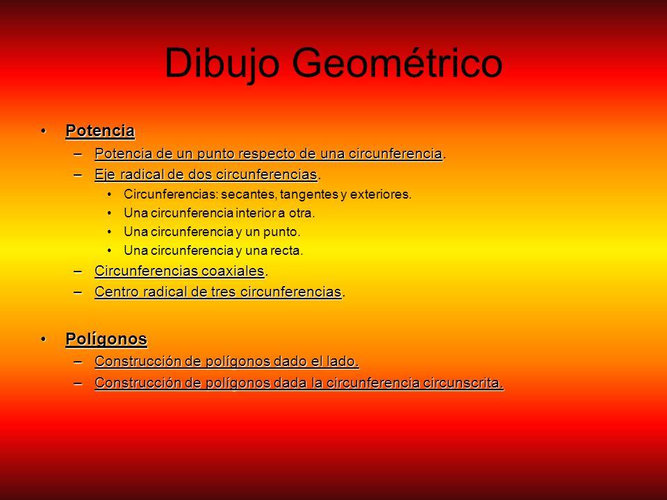 Dibujo Geométrico Potencia Polígonos