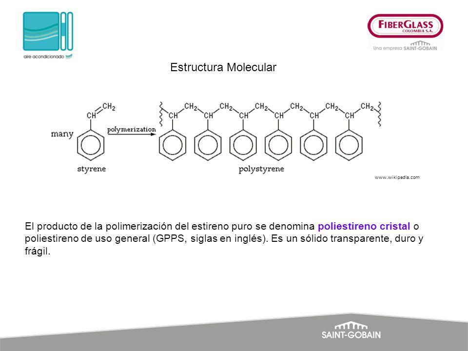 Estructura Molecular www.wikipedia.com.
