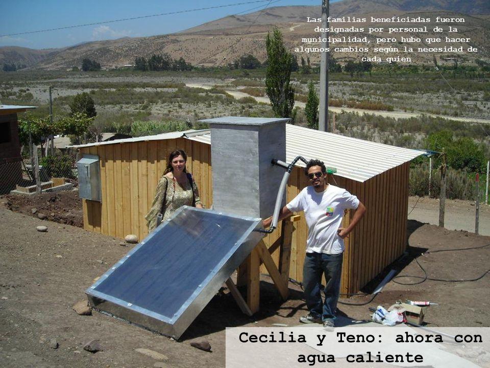 Cecilia y Teno: ahora con agua caliente
