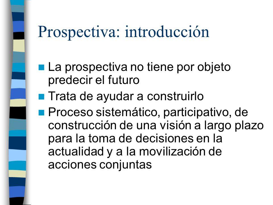 Prospectiva: introducción
