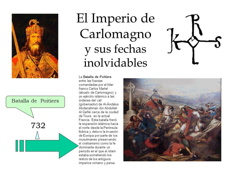 El Imperio de Carlomagno y sus fechas inolvidables