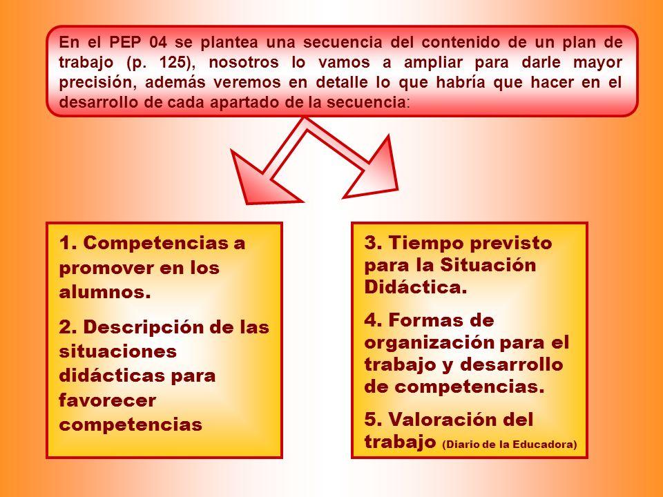 1. Competencias a promover en los alumnos.
