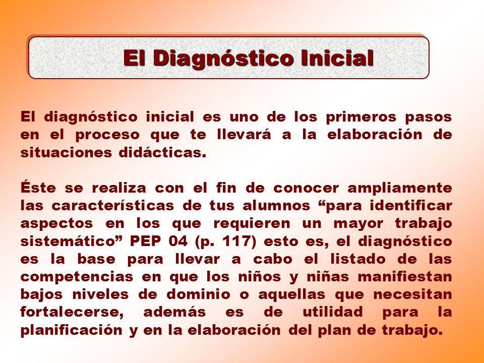 El Diagnóstico Inicial
