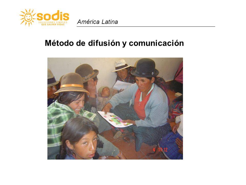 Método de difusión y comunicación