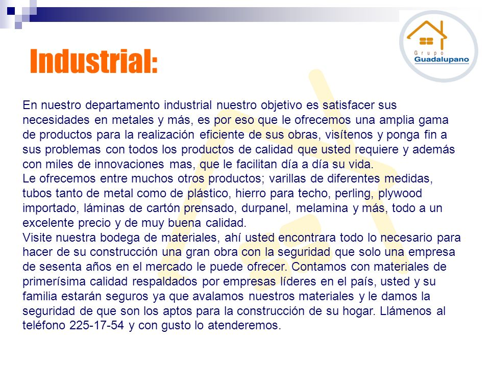 Industrial: