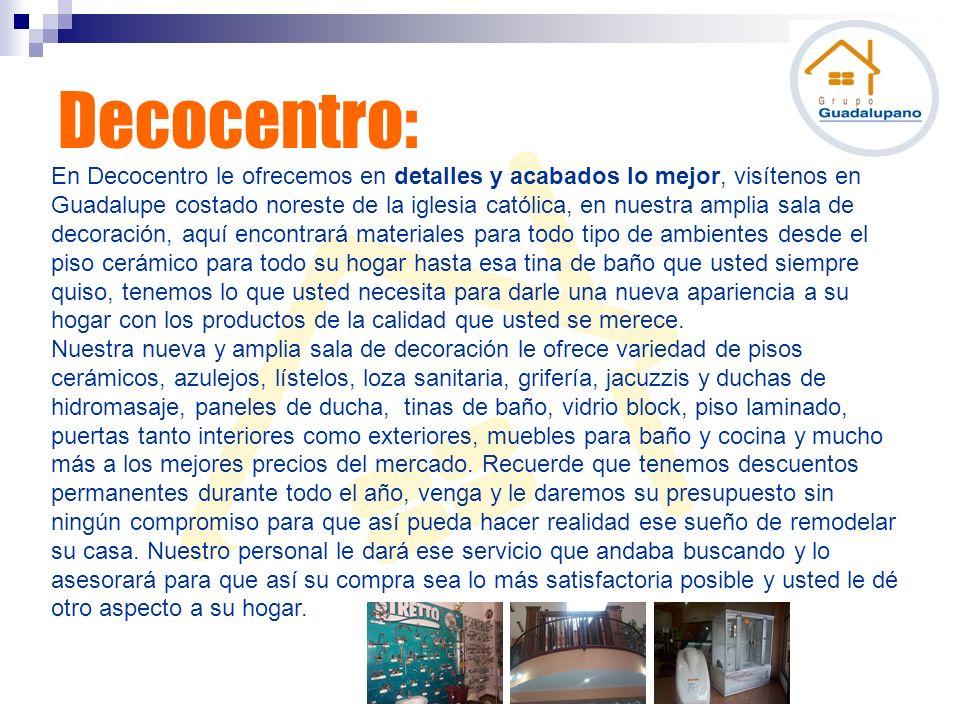 Decocentro: