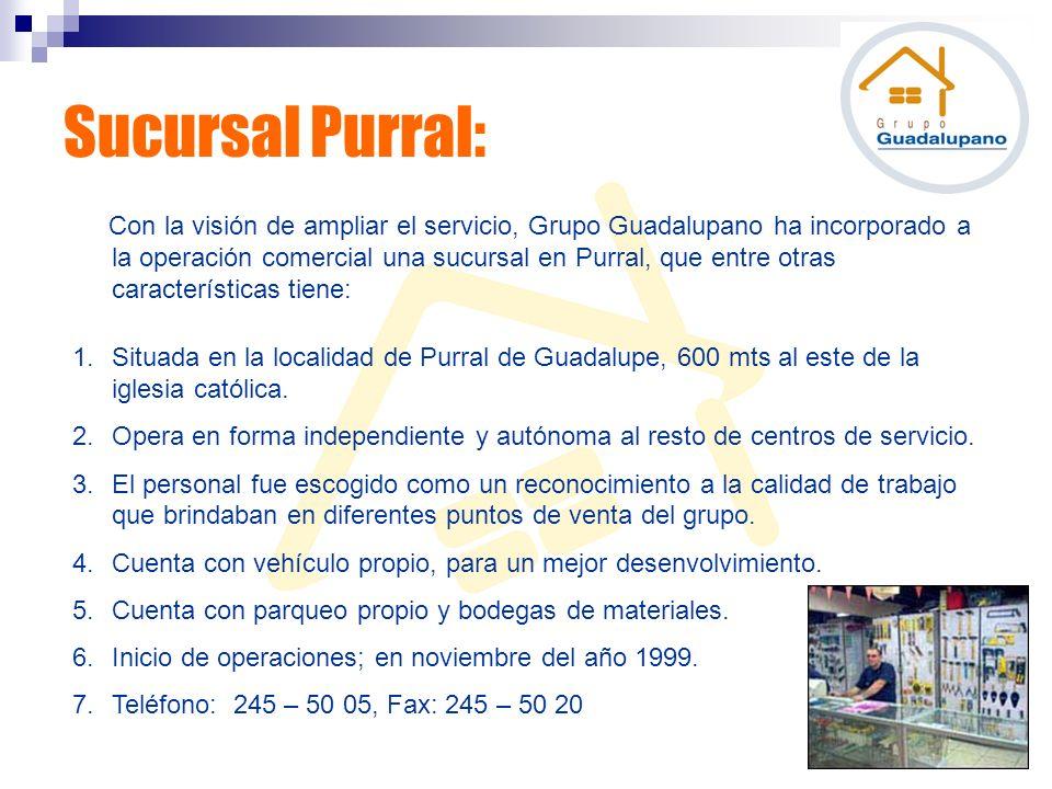 Sucursal Purral: