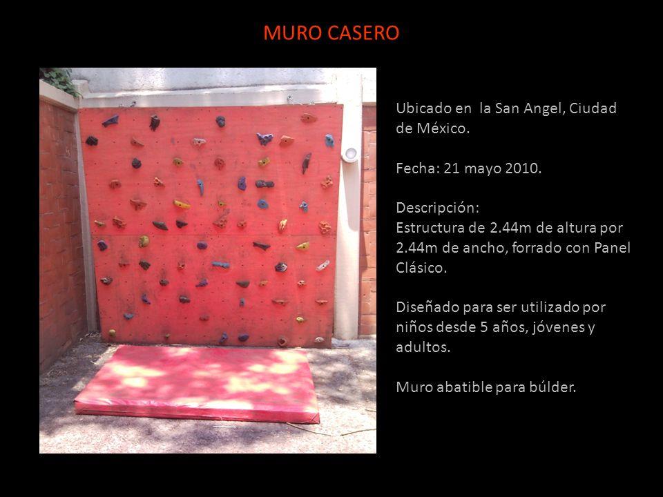 MURO CASERO Ubicado en la San Angel, Ciudad de México.