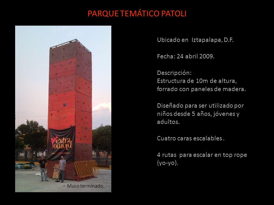 PARQUE TEMÁTICO PATOLI