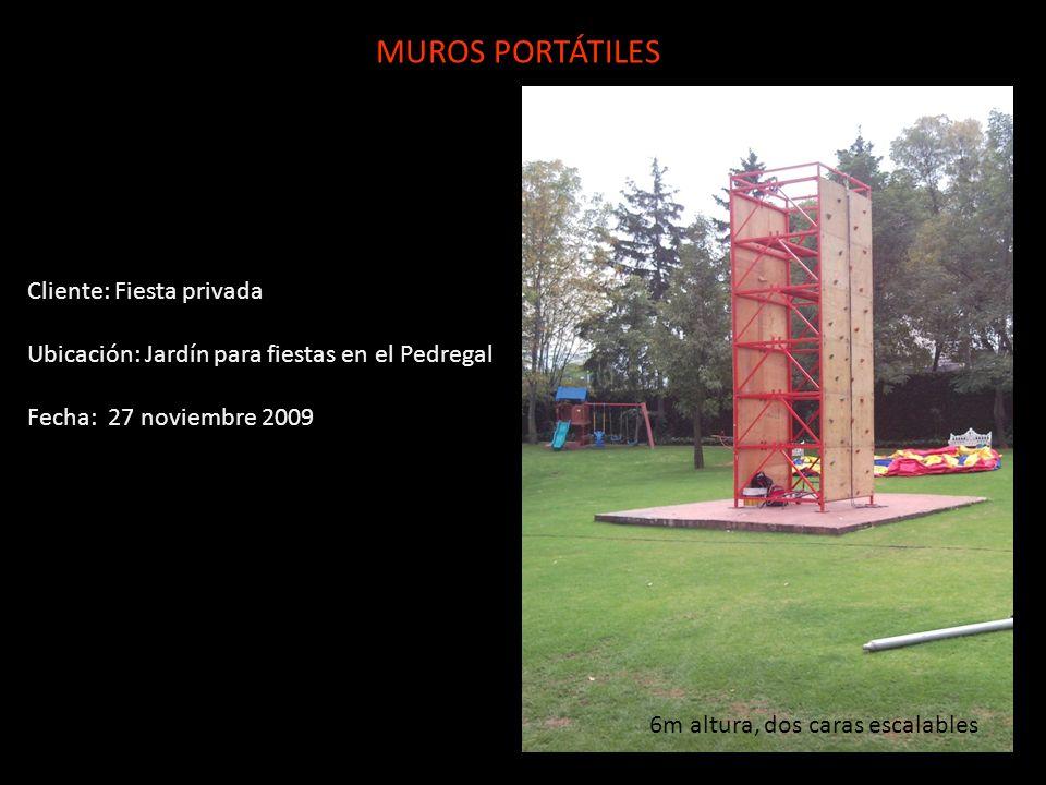 MUROS PORTÁTILES Cliente: Fiesta privada