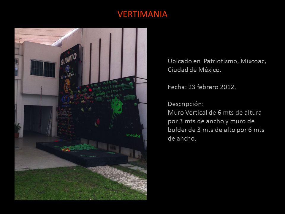 VERTIMANIA Ubicado en Patriotismo, Mixcoac, Ciudad de México.