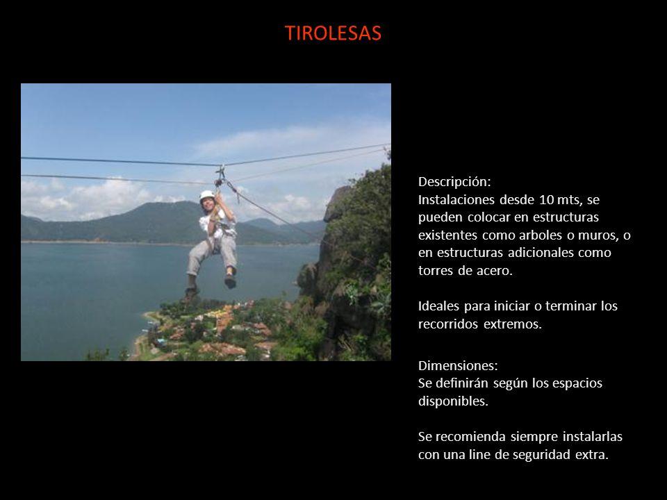 TIROLESAS Descripción: