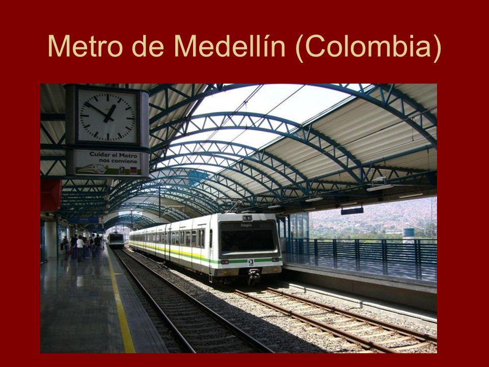 Metro de Medellín (Colombia)