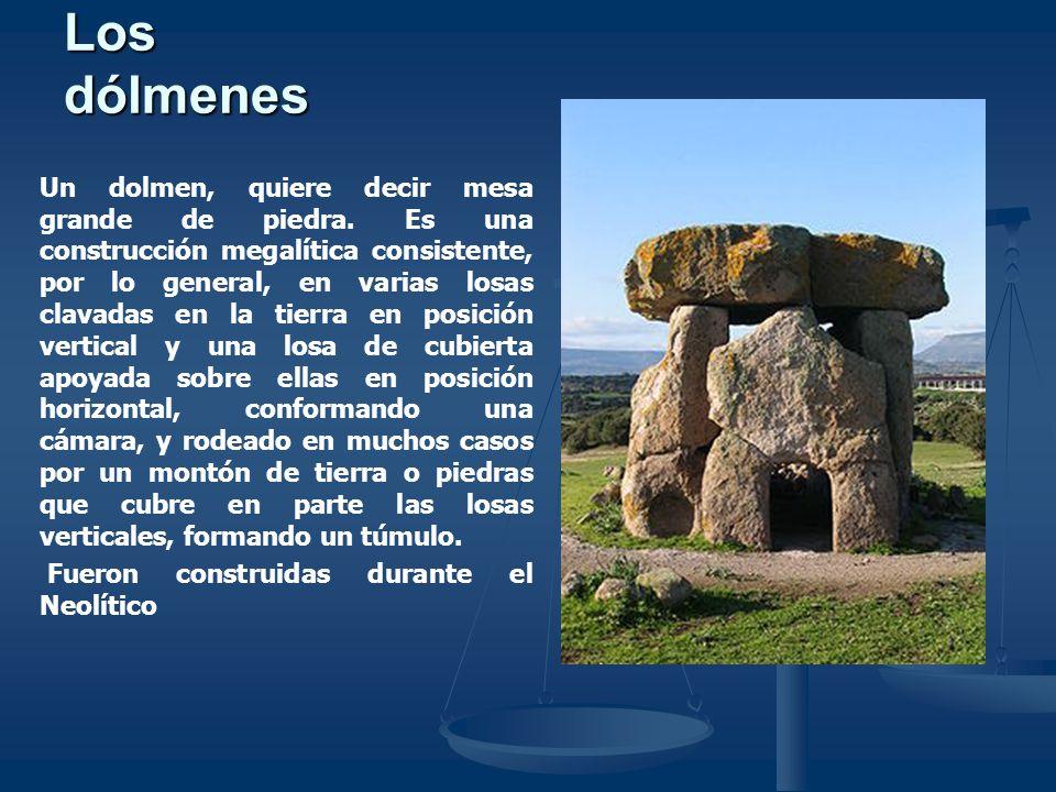 Los dólmenes
