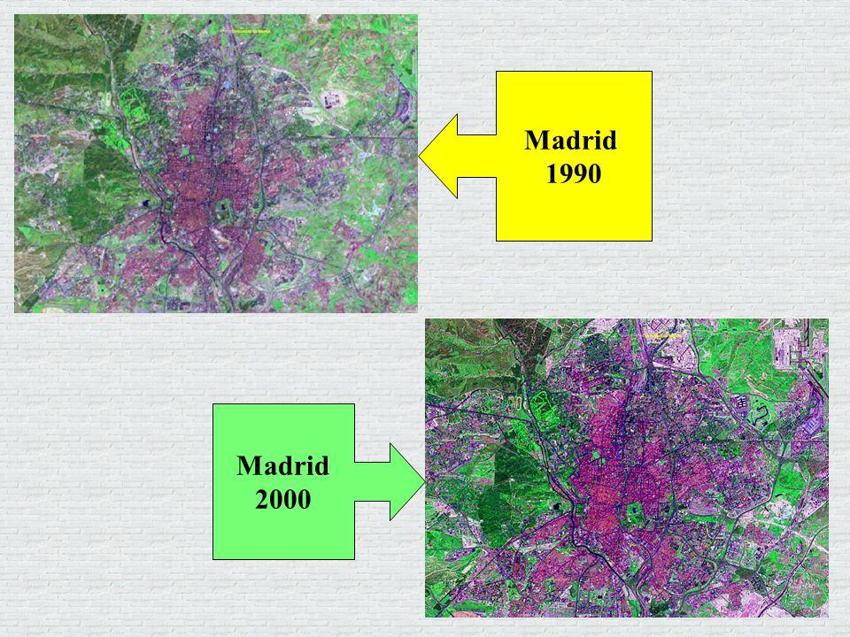 Madrid 1990 Madrid 2000