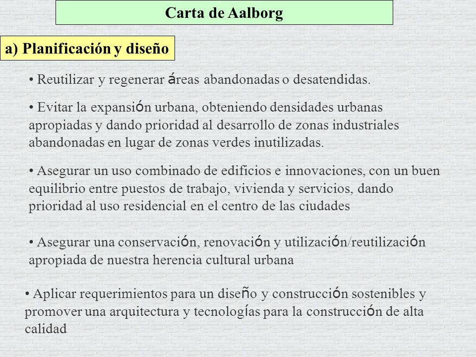 a) Planificación y diseño