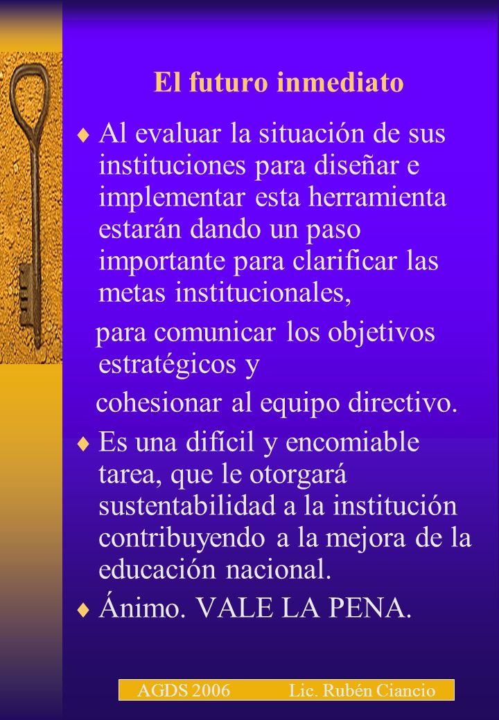 para comunicar los objetivos estratégicos y