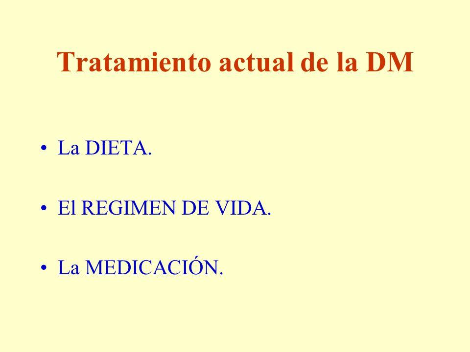 Tratamiento actual de la DM
