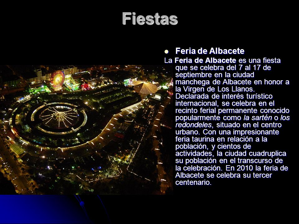 Fiestas Feria de Albacete