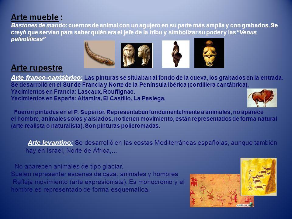 Arte mueble : Arte rupestre