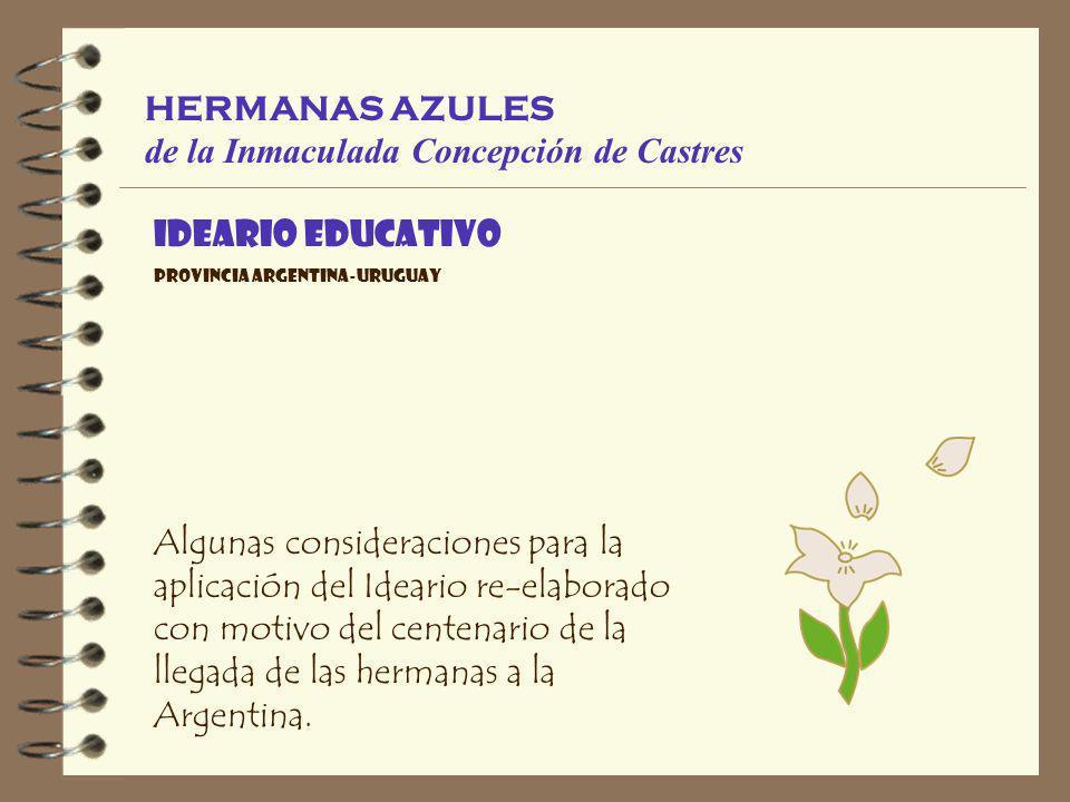 HERMANAS AZULES de la Inmaculada Concepción de Castres