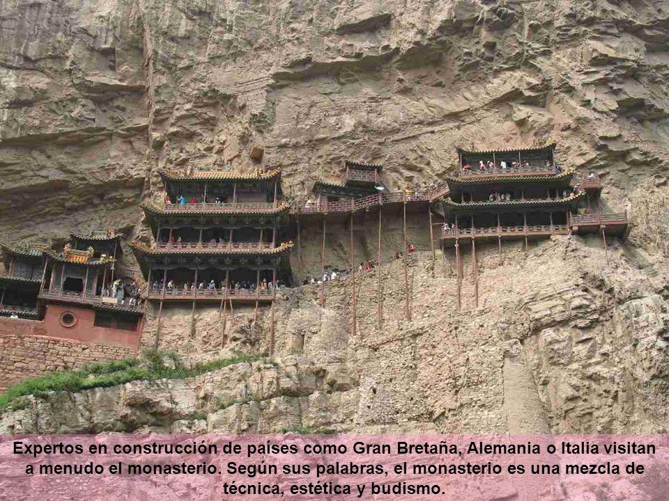Expertos en construcción de países como Gran Bretaña, Alemania o Italia visitan a menudo el monasterio.