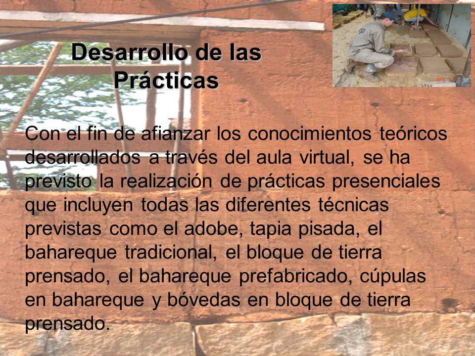 Desarrollo de las Prácticas