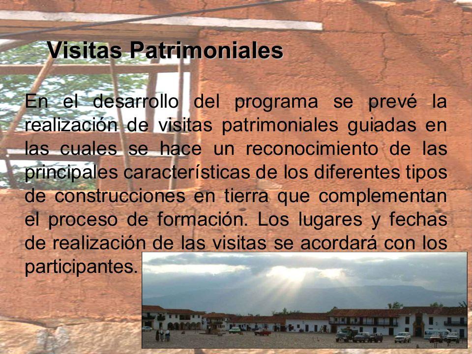 Visitas Patrimoniales
