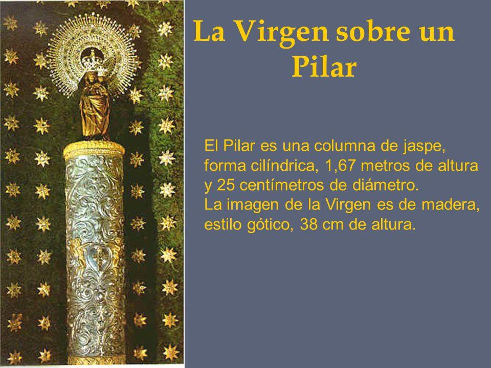 La Virgen sobre un Pilar