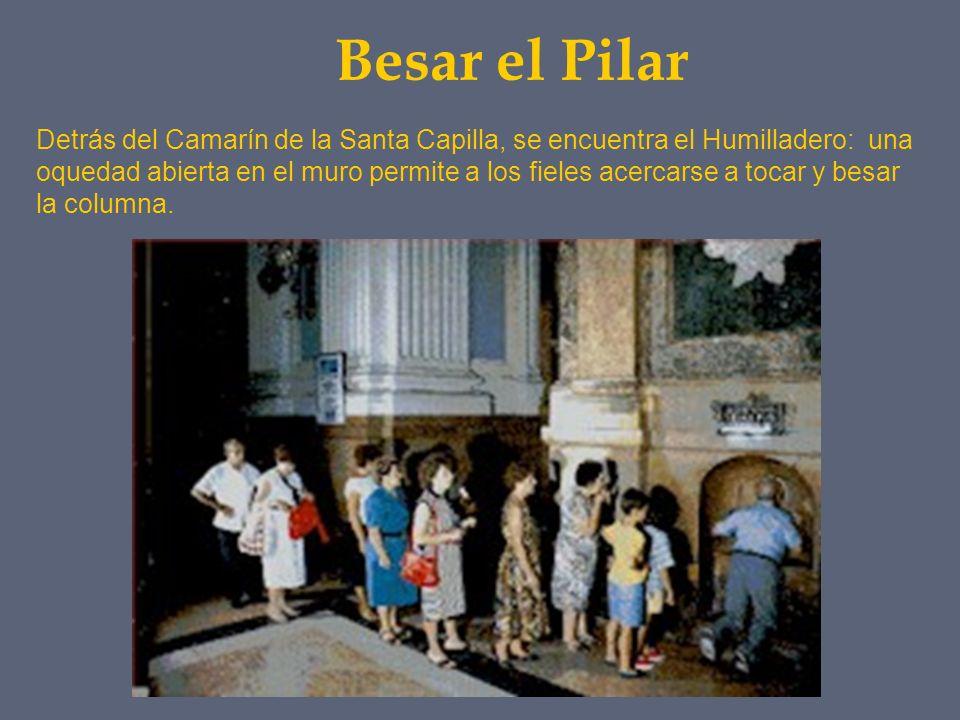 Besar el Pilar