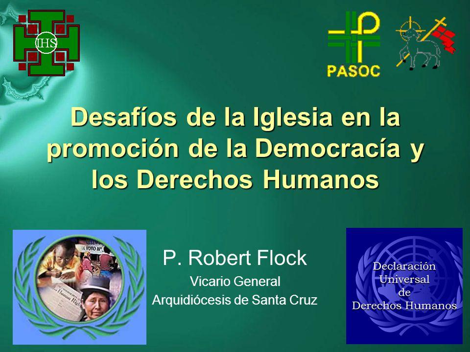 P. Robert Flock Vicario General Arquidiócesis de Santa Cruz