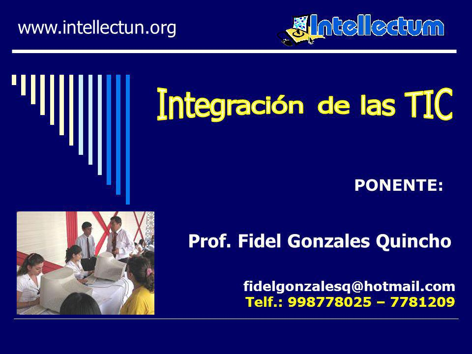Prof. Fidel Gonzales Quincho