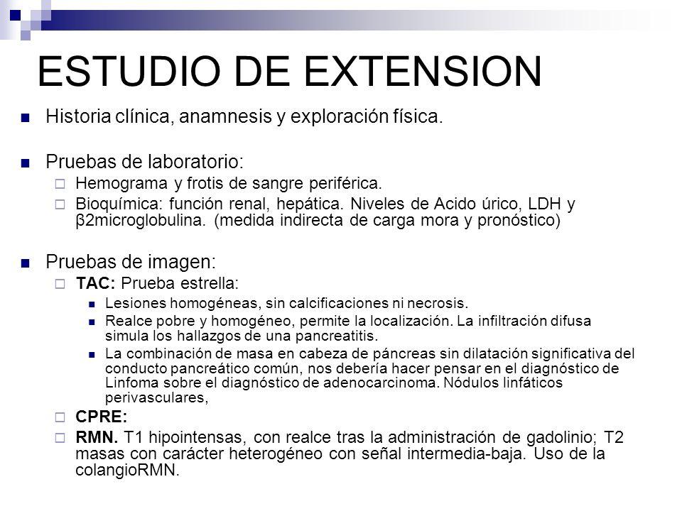 ESTUDIO DE EXTENSION Historia clínica, anamnesis y exploración física.