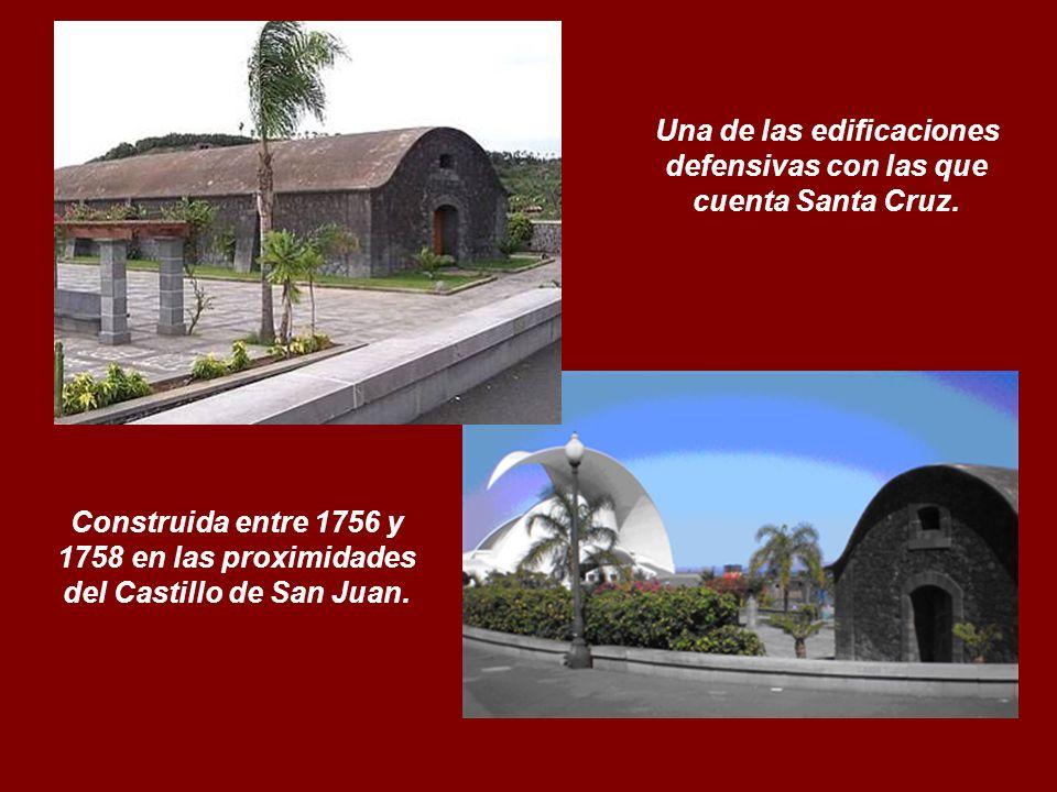 Una de las edificaciones defensivas con las que cuenta Santa Cruz.