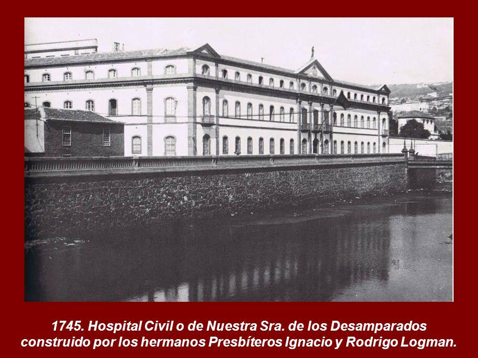 1745. Hospital Civil o de Nuestra Sra